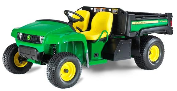 1. abra. John Deere GATOR-TE elektromos univerzális jármű