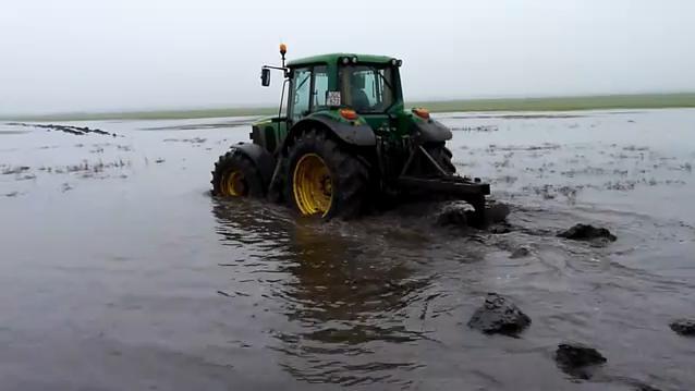Ezer hektáron van belvíz Veszprém megyében
