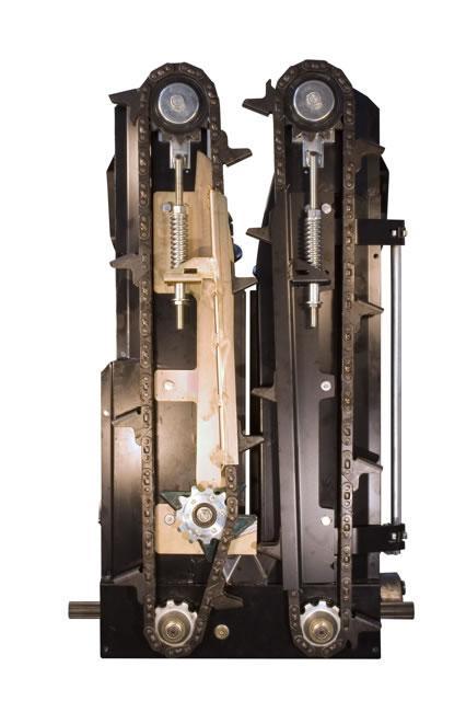 11. kép Napraforgó-betakarító átalakító készlet DBF Energy kukoricacső-törő adapterhez