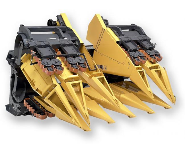 14. kép Fantini GH2-8 hidraulikusan összecsukható 8-soros napraforgó adapter