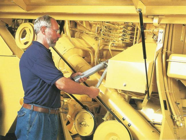 2. ábra: A központi kenési rendszer nagyban segíti a karbantartás elvégzését