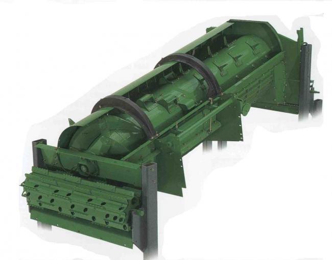 4. ábra: Axiál-dobos gépek esetén is fontos a megfelelő dobkosár és a betétek alkalmazása