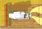 1/a-b. ábra:Az arató-cséplő gépek szecskázó berendezése és szalmaterítője optimális aprítást végez a mulcsozáskor