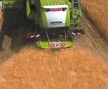 1/a-b. ábra: Az arató-cséplő gépek szecskázó berendezése és szalmaterítője optimális aprítást végez a mulcsozáskor