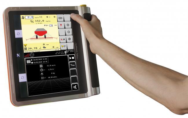 11.kép Elektronikus vetőgép vezérlés és ellenőrzés, művelősor elzárás
