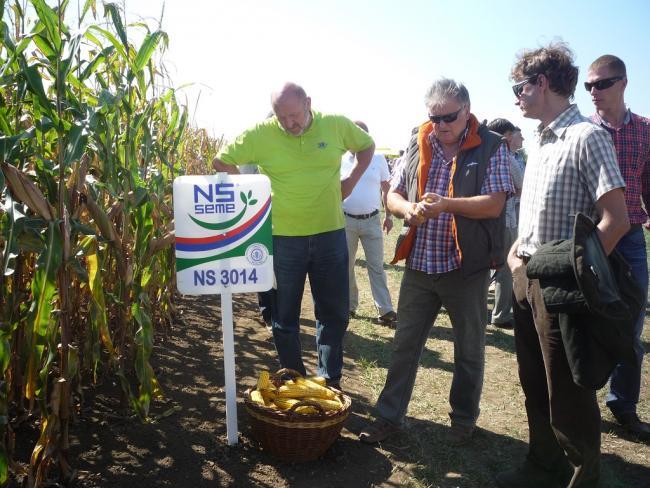 Az NS Mag Holding Zrt. szervezésében a rendezvényen magyar termelők is részt vettek