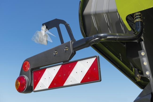 Claas szél- és dőlésdetektor