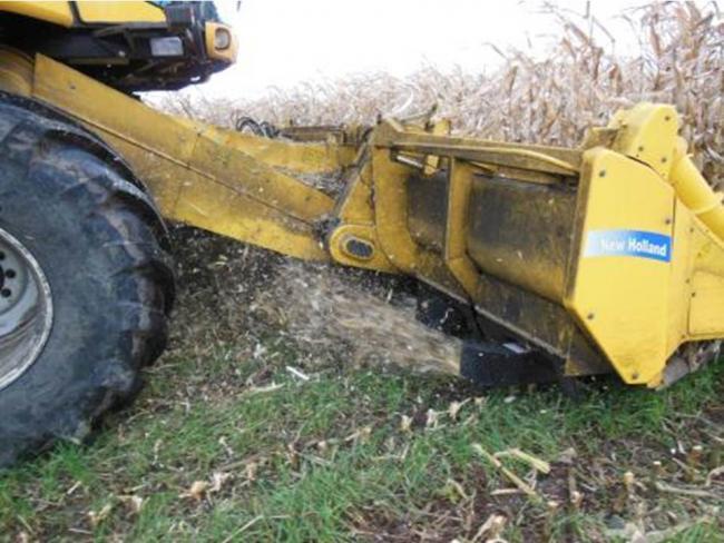 New Holland Cornrower kukoricacsó-törő adapter
