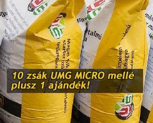 10+1 ajándék az UMG MICRO tavaszi mikrostarterekre!
