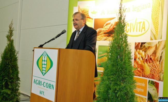 aszkó László ügyvezető igazgató, Agri - Corn Kft.