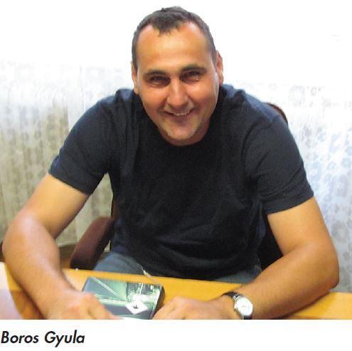 Boros Gyula növényvédelmi szakirányító, Haladás Szövetkezet, Németkér