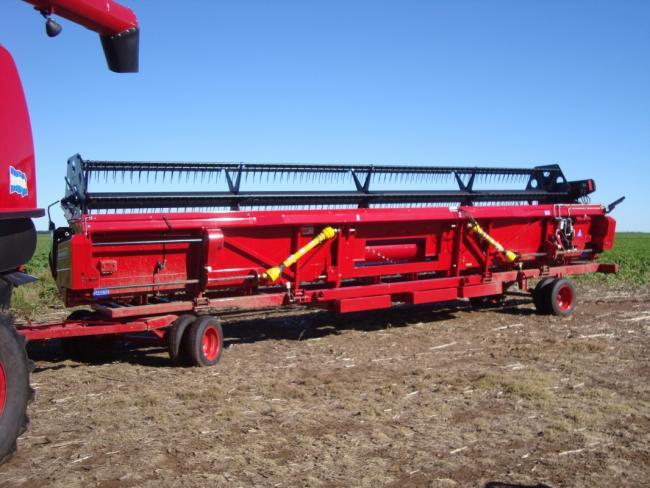 10.kép Vassali vágóasztal szállítókocsi FlexiDrap 10.500 aratórészhez