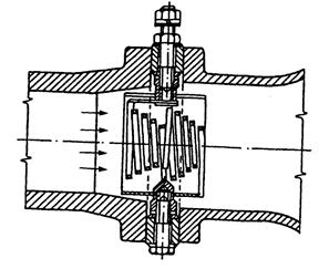 3. ábra Elektromos fűtőbetét, a szívócsőben elhelyezve
