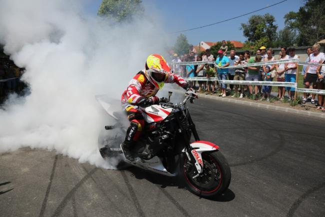 Herczeg 'Mókus' Balázs motoros bemutatója