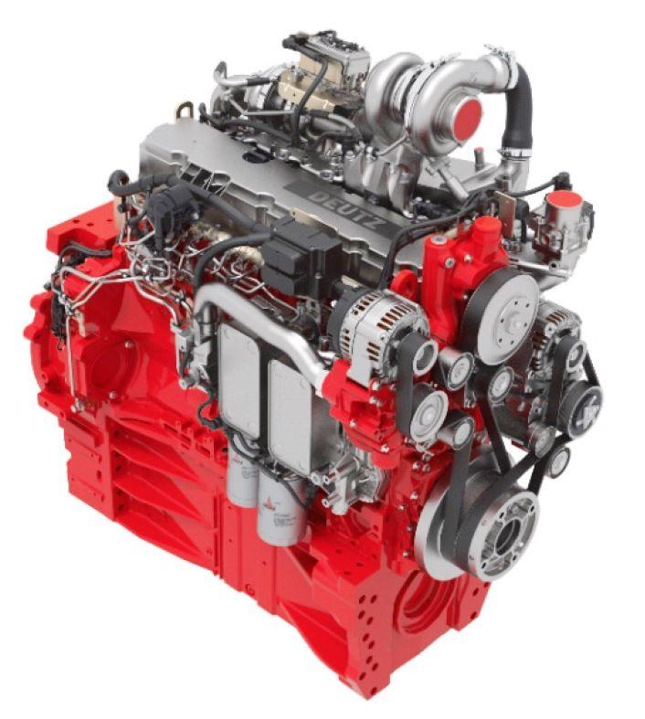 5. ábra. Deutz TTCD 7,8 L6 típusjelzésű dízelmotor