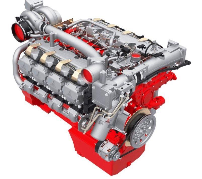 7. ábra. Deutz TCD 16,0 V8 típusjelzésű dízelmotor