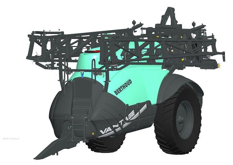 (8. ábra: A VANTAGE vontatott sorozat legnagyobb, 6.700 literes gépe)