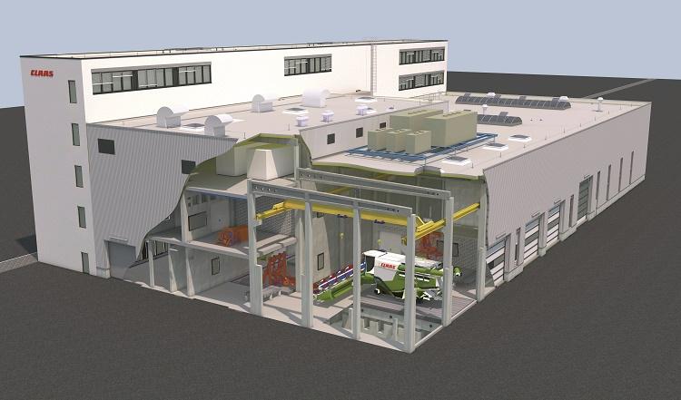 Pillantás a jövőbe: a tervek szerint így néz majd ki az új Teszt- és vizsgaközpont.