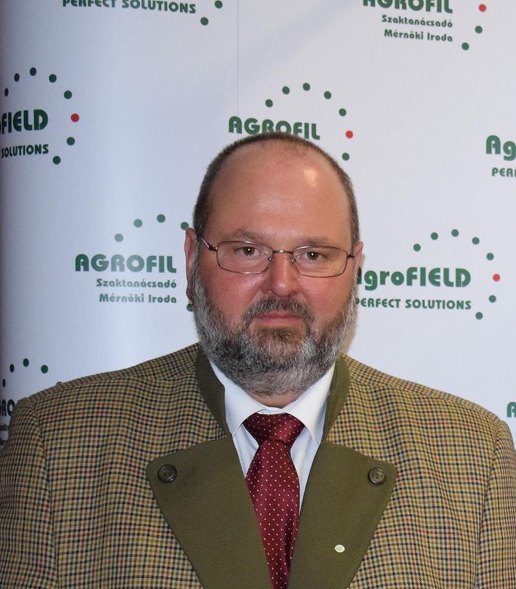 Lajos Mihály, az Agrofil SZMI Kft. ügyvezetője,