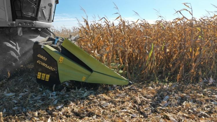 8 soros OROS CORNADO kukorica adapter