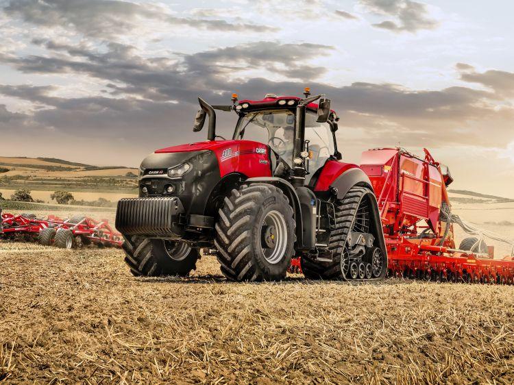 1. kép. Magnum AFS Connect 400 Rowtrac traktor Forrás: www.caseihmediacentre.com