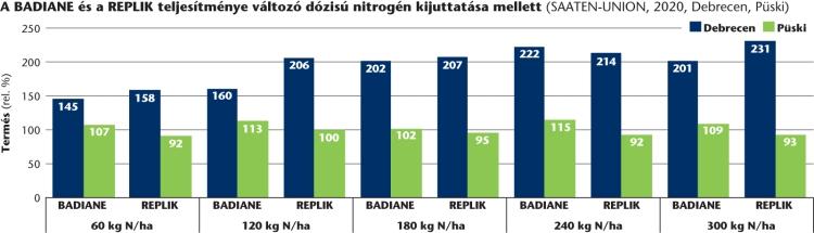 Badiane és Replik teljesítménye