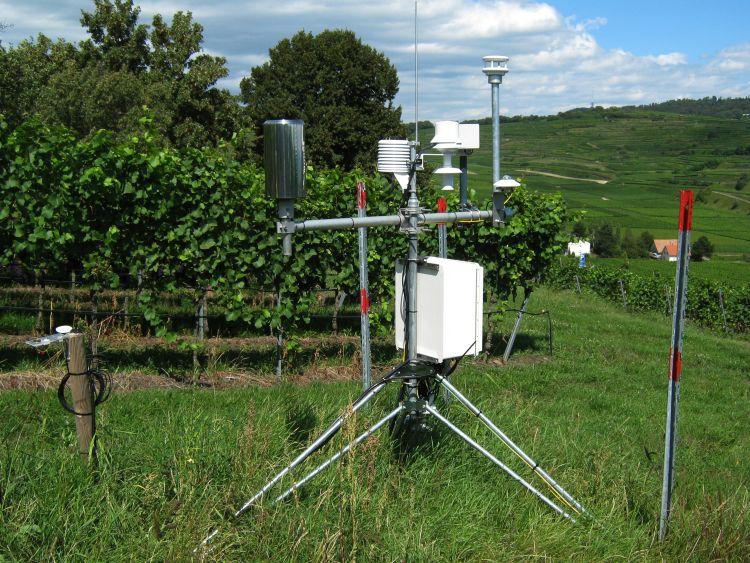 A pontos vízadagoláshoz helyben mért meteorológiai adatok szükségesek