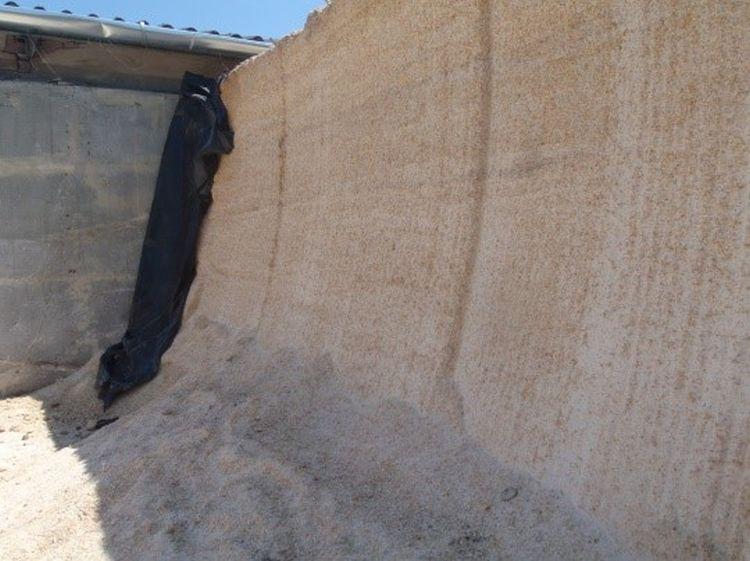 Nedves kukorica falközi silótérben