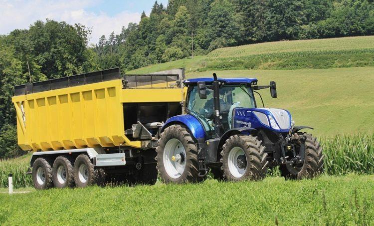 New Holland ITBS fékezésű járműszerelvény