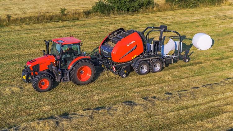 Kubota traktor a mezőgazdaságban