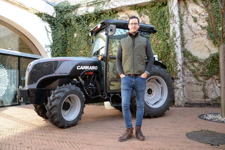 carraro agricube ültetvénytraktor