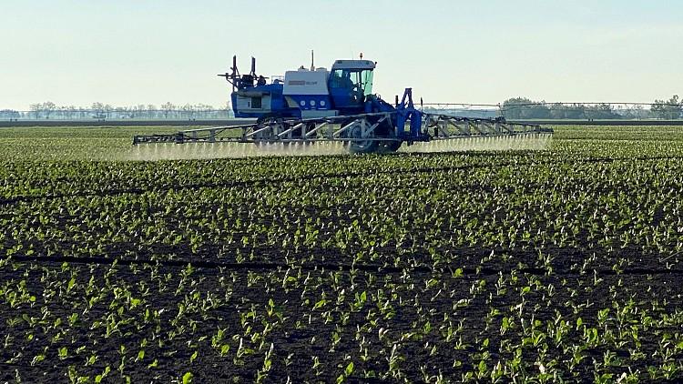 Mezőgazdasági mobil alkalmazás - permetezés támogatása