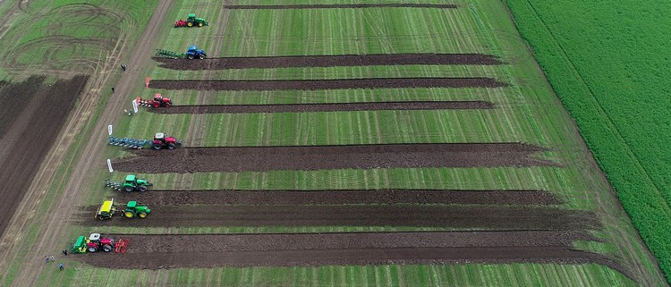 Mezőgazdaság, szántóföldi bemutató a NAK szervezésében