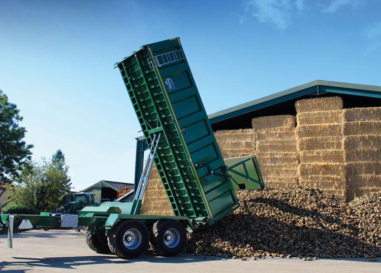 Répaszállításra kifejlesztett mezőgazdasági pótkocsi