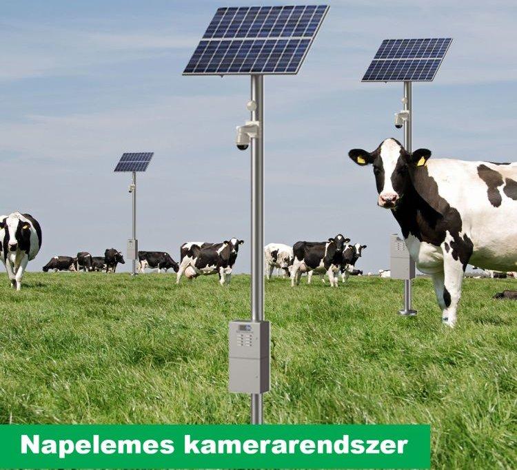 napelemes kamerarendszer