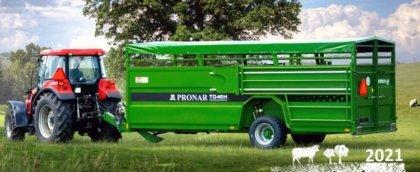 Új modellel bővült a Pronar állatszállító pótkocsi-kínálata