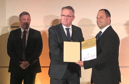 A Kertészet kategória nyertese Dr. Orlóczi László