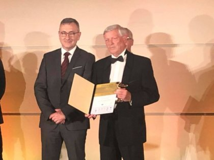 A Növényvédelem kategória kategória nyertese Dr. Pálmai Ottó