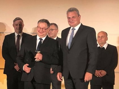 Kiss György az Állattenyésztési kategória győztese