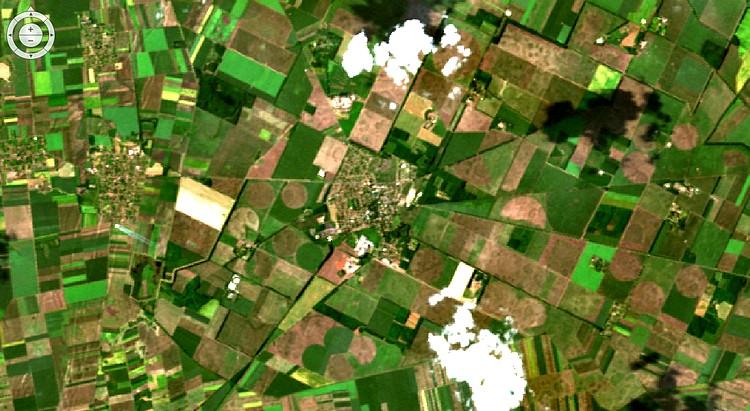 Mezőgazdaság, űr