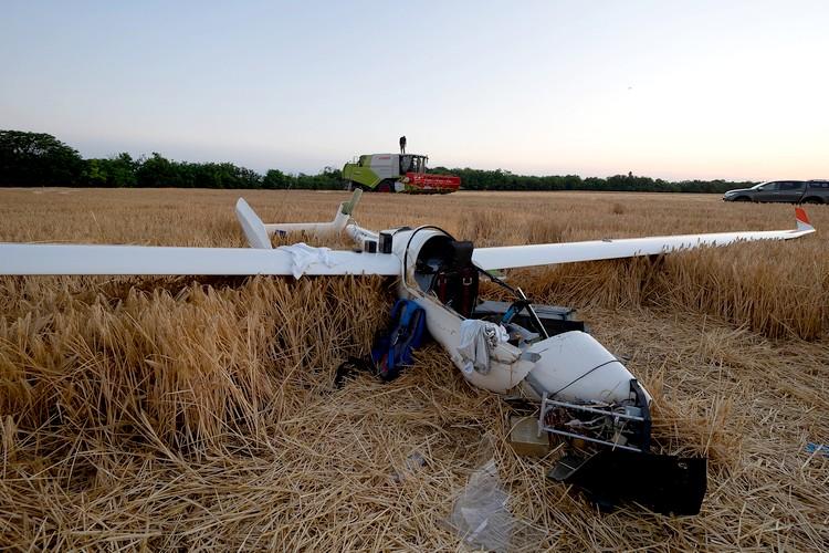 Mezőgazdaság, repülő, baleset