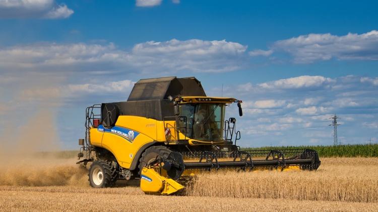 Mezőgazdaság, kombájnok