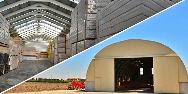 Mezőgazdaság több területén előszeretettel alkalmazzák a könnyűszerkezetű acélcsarnokokat