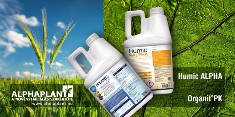 Humic Alpha növénykondicionáló