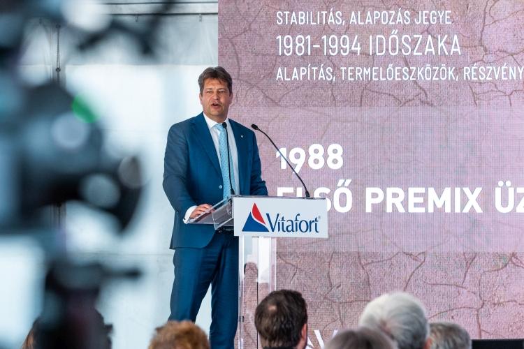Kulik Zoltán a Vitafort Zrt. vezérigazgatója