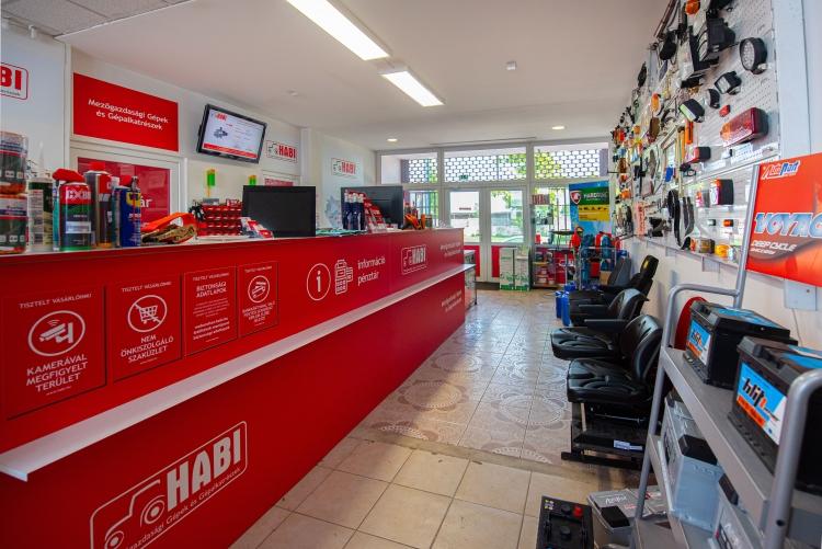 HABI üzlet Budapest