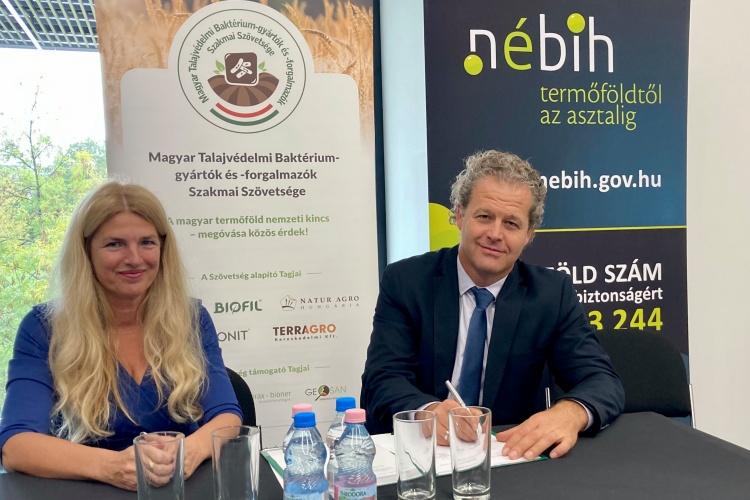 együttműködés (NÉBIH és a Magyar Talajvédelmi Szövetség)